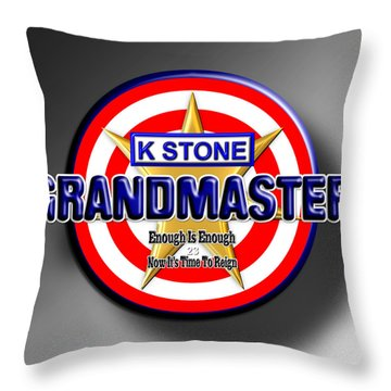 Grandmaster Throw Pillow