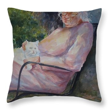 Grandmotherly Love Throw Pillow