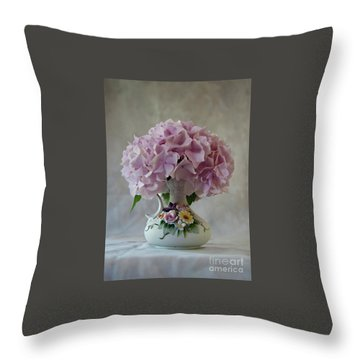 Grandmother's Vase   Throw Pillow