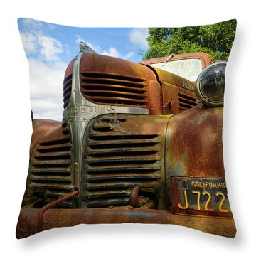 Grandpa Throw Pillow