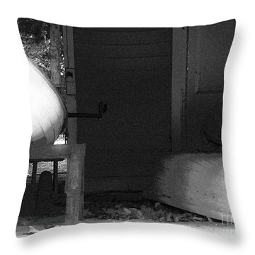 The Three Dinghys Throw Pillow