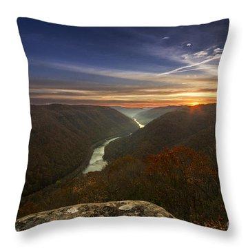 Grandview Sunrise Throw Pillow