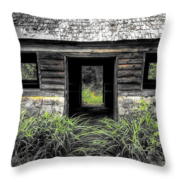 Granite House Throw Pillow