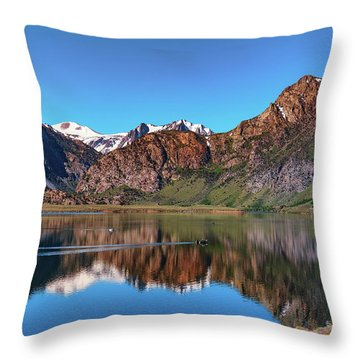 Grant Lake Serenity June 2017 Throw Pillow