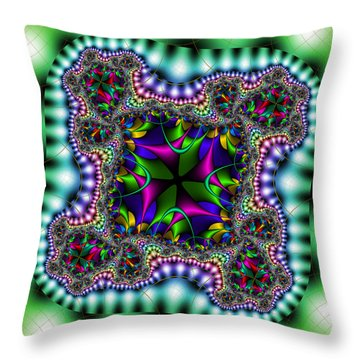 Grapperana Throw Pillow