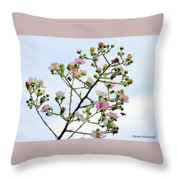 Grasping For The Hands Of Heaven Throw Pillow