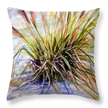 Grass 1 Throw Pillow
