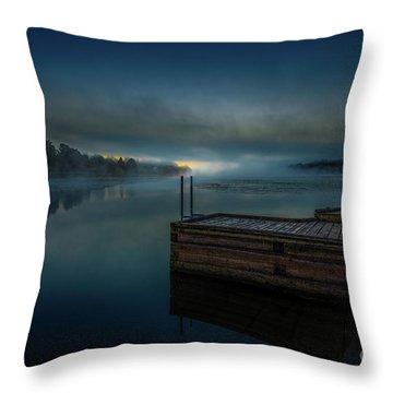 Grass Creek Sunrise 1 Throw Pillow