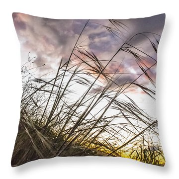 Grassy Knoll Throw Pillow