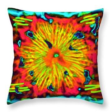 Grateful Dead Throw Pillow