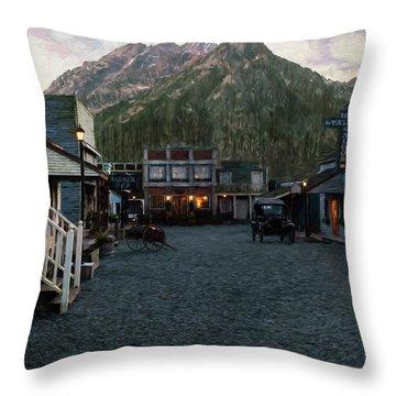 Grateful Heart - Hope Valley Art Throw Pillow