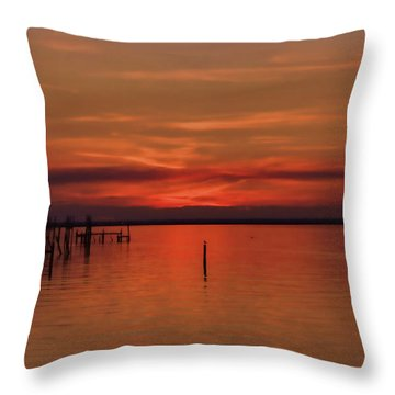 Grateful Sky Throw Pillow