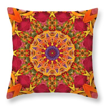 Throw Pillow featuring the photograph Gratitude by Bell And Todd