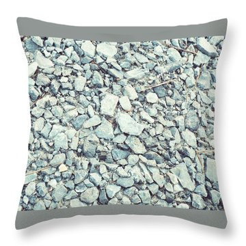 Gravel  Throw Pillow