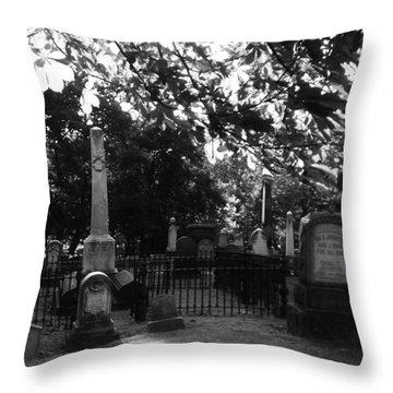 Graveyard 2 Throw Pillow
