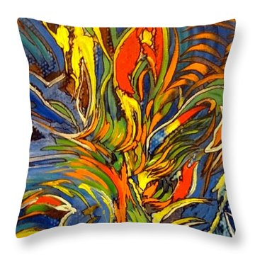 Gravity Two Throw Pillow