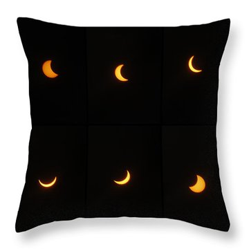 Great American Eclipse 2017 Throw Pillow