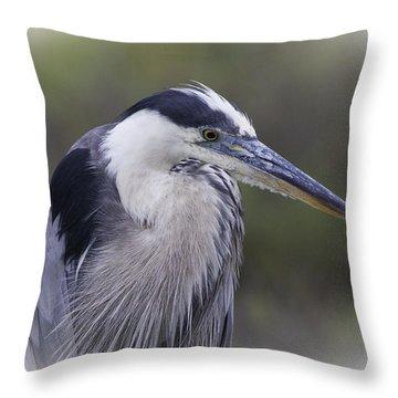 Great Blue Throw Pillow