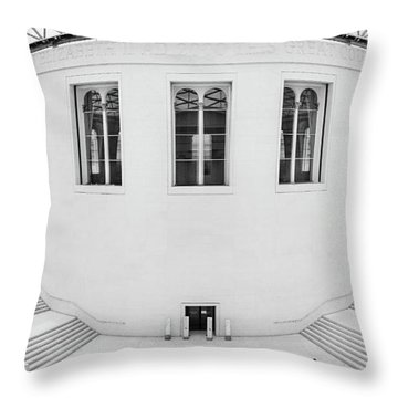 Great Court Throw Pillow