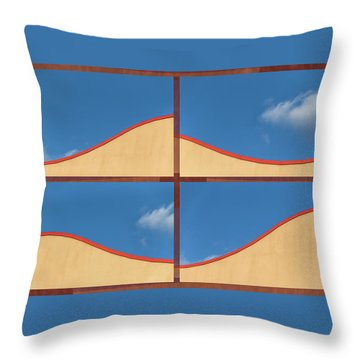 Great Curves -  Throw Pillow