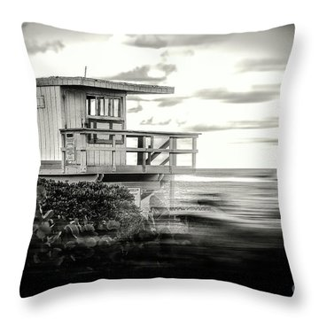 Great Day At The Beach  Throw Pillow