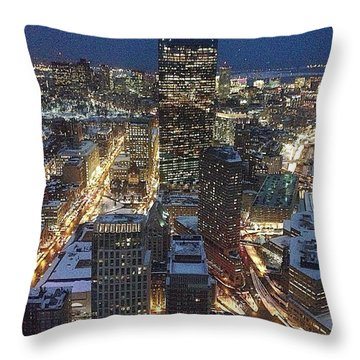 City Of Champions  Throw Pillow