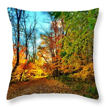Great Finale Throw Pillow