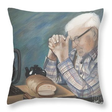 Great Grandpa Throw Pillow