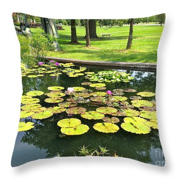 Great Greenery Throw Pillow