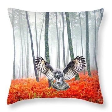 Great Grey Owl Home Decor