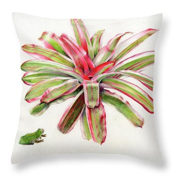 Great Hangout Throw Pillow