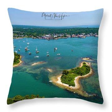 Great Harbor Throw Pillow