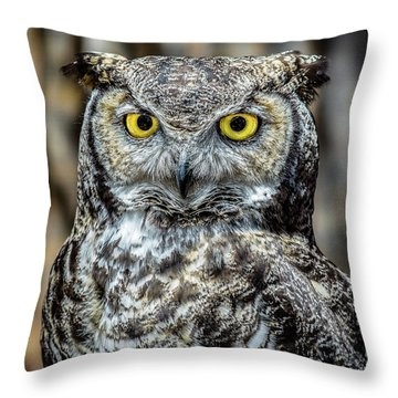Whooo Me ? Throw Pillow
