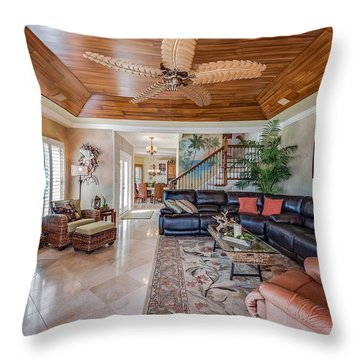 Great Living Space Throw Pillow