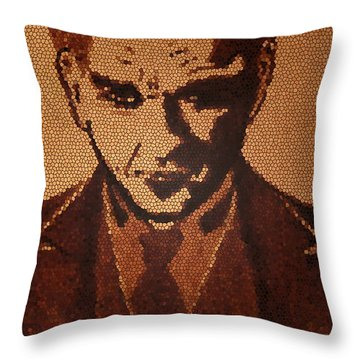 Great Mustafa Kemal Ataturk  Throw Pillow