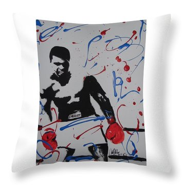 Great Ones Live On Throw Pillow