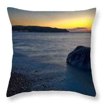 Great Orme, Llandudno Throw Pillow