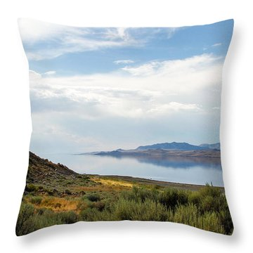 Great Salt Lake Throw Pillow