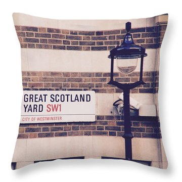 Great Scotland Yard Throw Pillow
