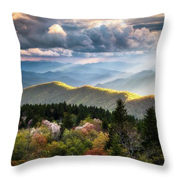 Great Smoky Mountains National Park - The Ridge Throw Pillow
