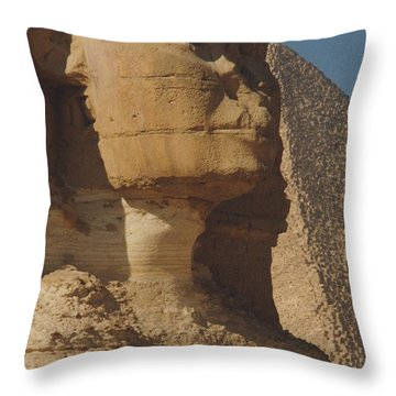 Great Sphinx Of Giza Throw Pillow