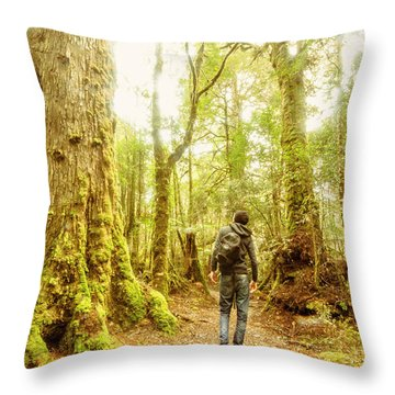 Great Tasmania Short Walks Throw Pillow