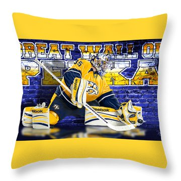 Throw Pillow featuring the photograph Great Wall by Don Olea