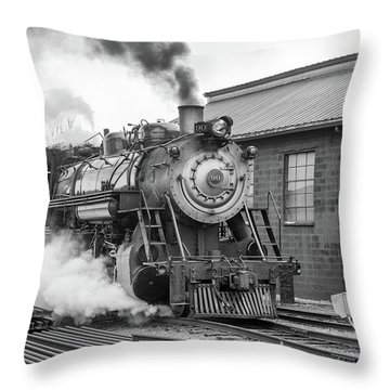 Great Western 90 Boiler Blow Down 2 Throw Pillow