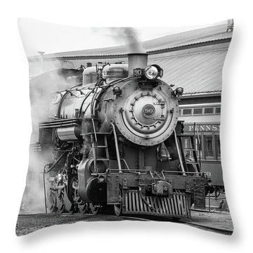 Great Western 90 Throw Pillow
