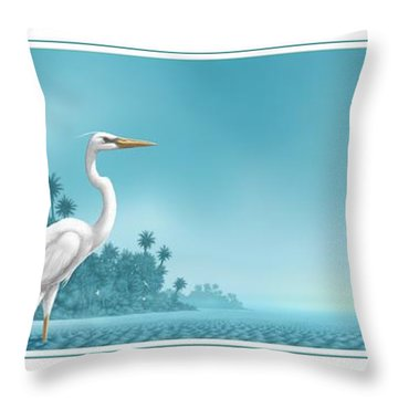 Great White Throw Pillow
