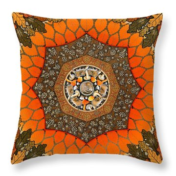 Great Wood Throw Pillow by Isobel  Brook Haslam