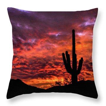 Greater Scottsdale Arizona Throw Pillow