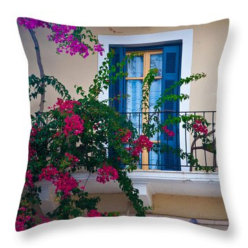 Greek Beauty Throw Pillow