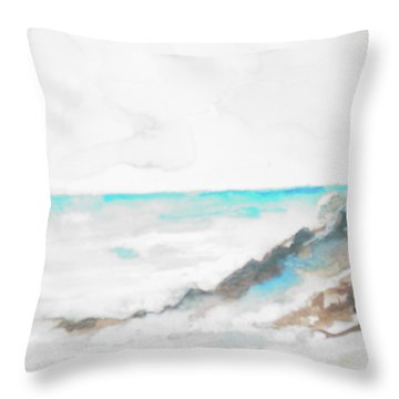 Greek Isle Throw Pillow by Robin Miller-Bookhout